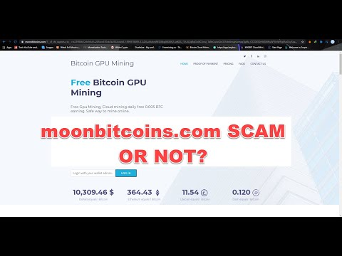 Moonbitcoins.com SCAM Or NOT?