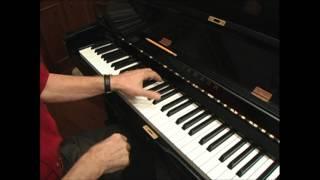 Blues Improvisation, piano variations, Albert Ammons, left hand patterns