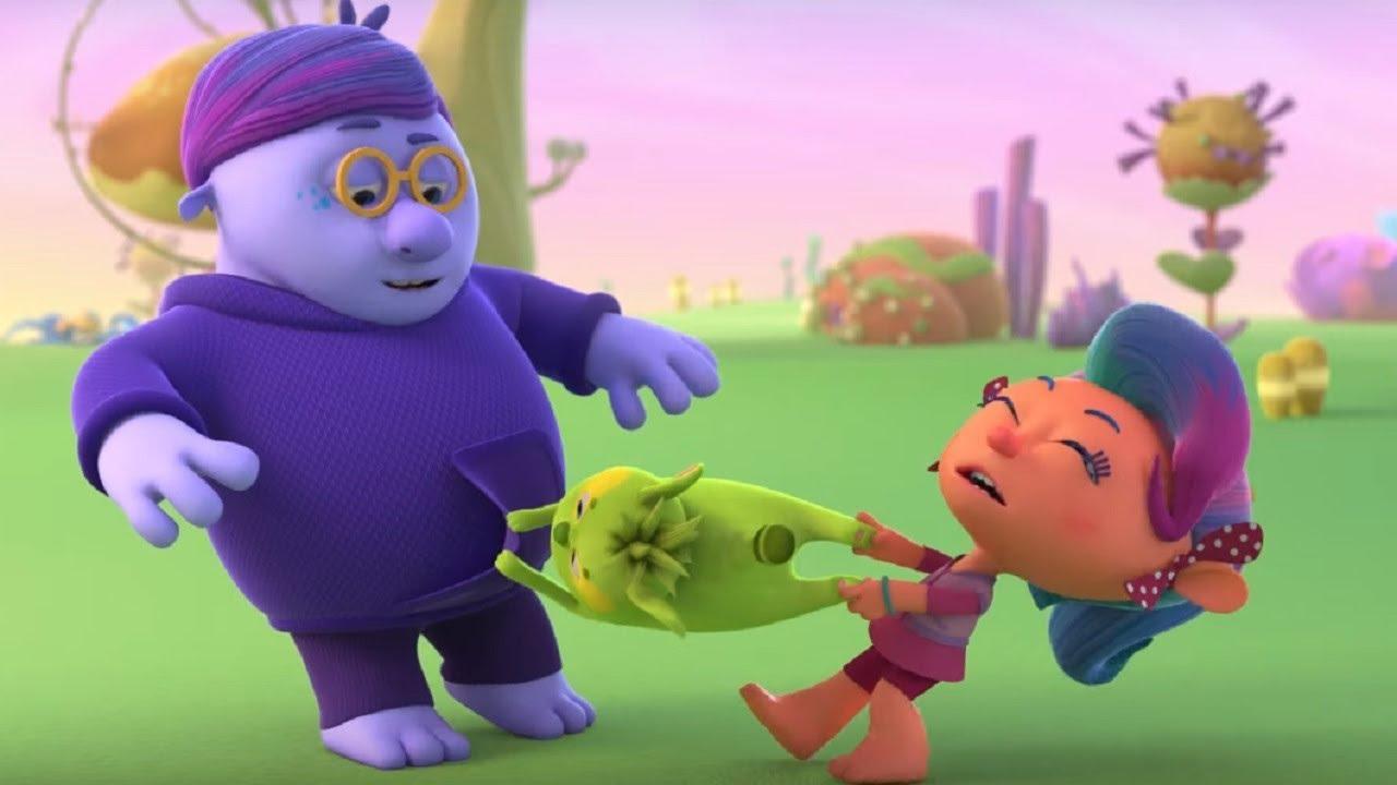 Слива-стыдлива – Монсики – мультфильм для детей – Чувства и эмоции