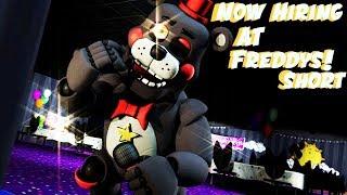 [SFM FnaF] Now Hiring At Freddy's By JT Music | Short