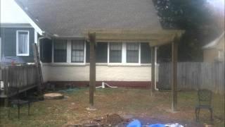 We Built A Pergola
