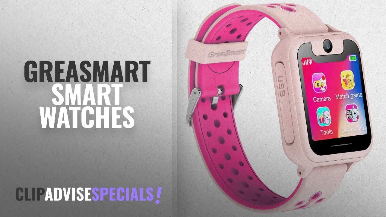 Top 5 Greasmart Smart Watches 2018 Best Sellers Kids Smartwatch Q50 Watch For With Gps Sim Card Black Kidssmartwatch Kidssmart