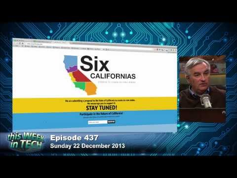 Tim Draper Wants to Break California Into 6 States: TWiT 437