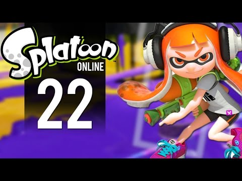 Splatoon - Multiplayer Gameplay Part 22 - Tough Luck