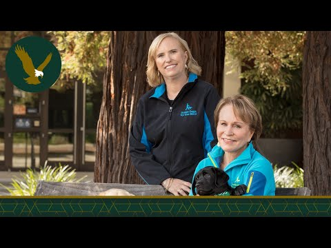 Guide Dogs for the Blind Discusses Their Mission and Life with a Guide Dog