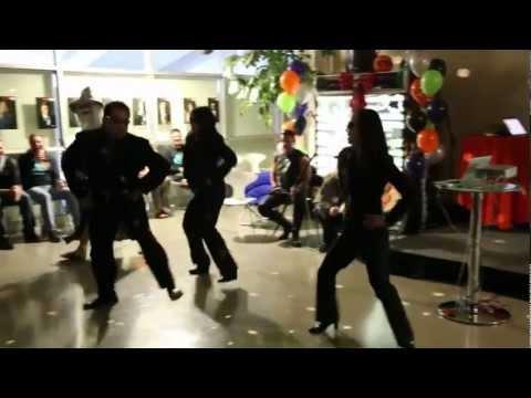 2012 XANGO Holoween Party Yakuza Gangnam Dance