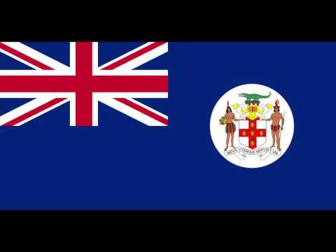 The anthem of the British Crown Colony of Jamaica