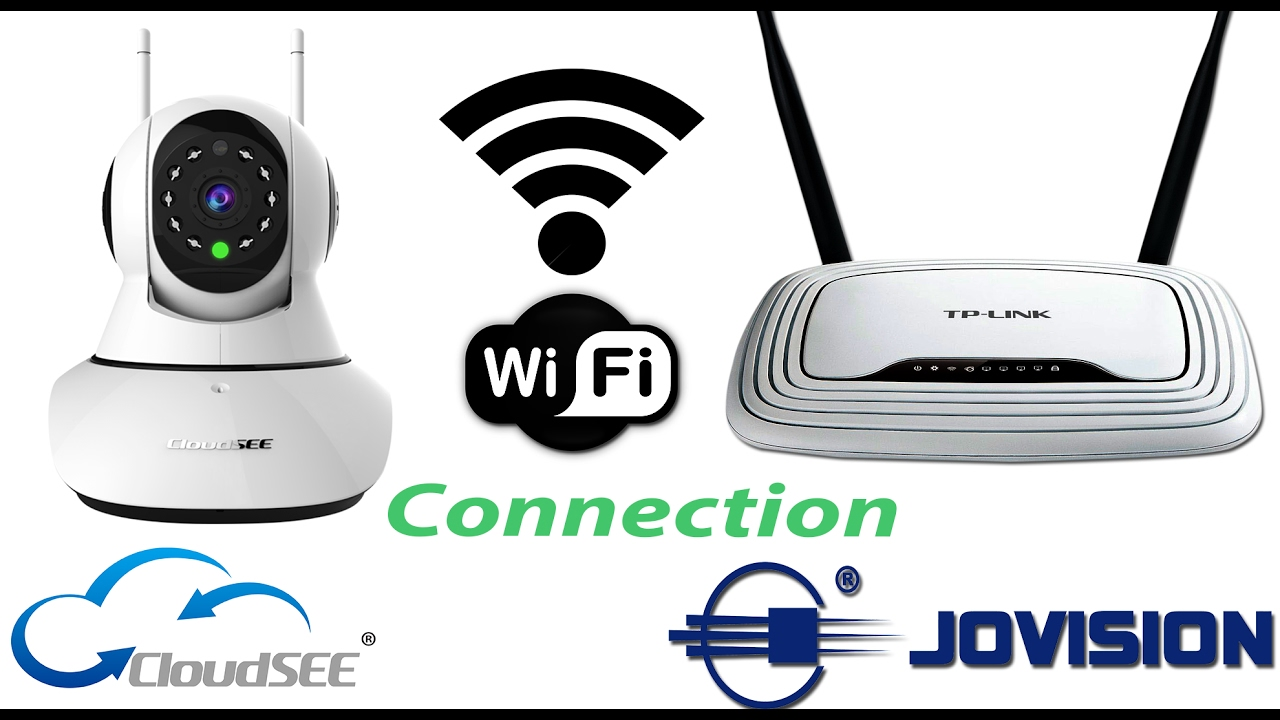How to install & Connect to Wifi Router with Jovision H510 IP Camera By  Windows 10 PC