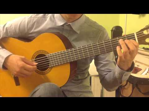 Classical Guitar Piece; Love Story