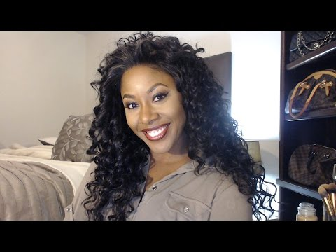 Friday Night Hair Wig Review GLS24  MakeupMesha