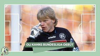Oli Kahn: Bundesliga-Debüt beim Spiel 1. FC Köln vs. KSC 1987   ZwWdF