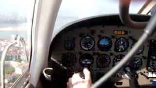 Piper PA28 arrow landing LESO