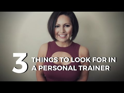 Things to look for inside a Fitness Expert