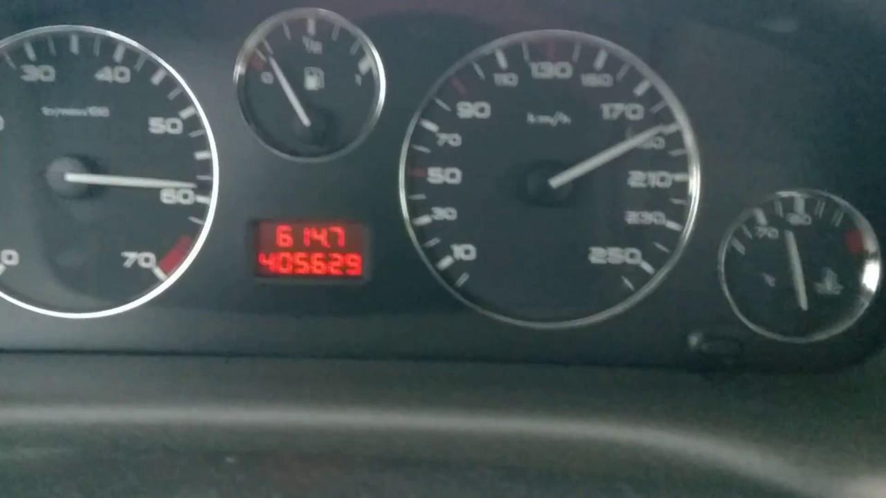 Peugeot 406 3.0 V6 24V 50 - 200 km/h