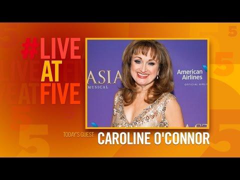Broadway.com LiveatFive with Caroline O'Connor of ANASTASIA