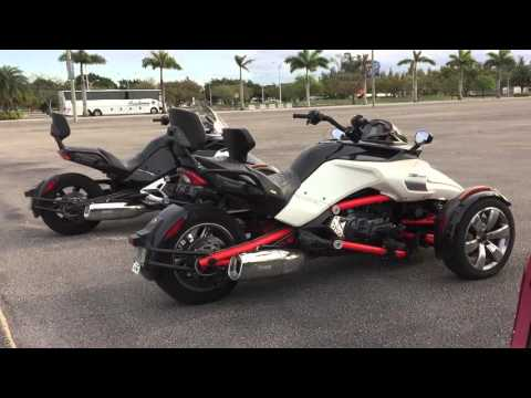 Introduction to Can-Am Spyder - the modern trike
