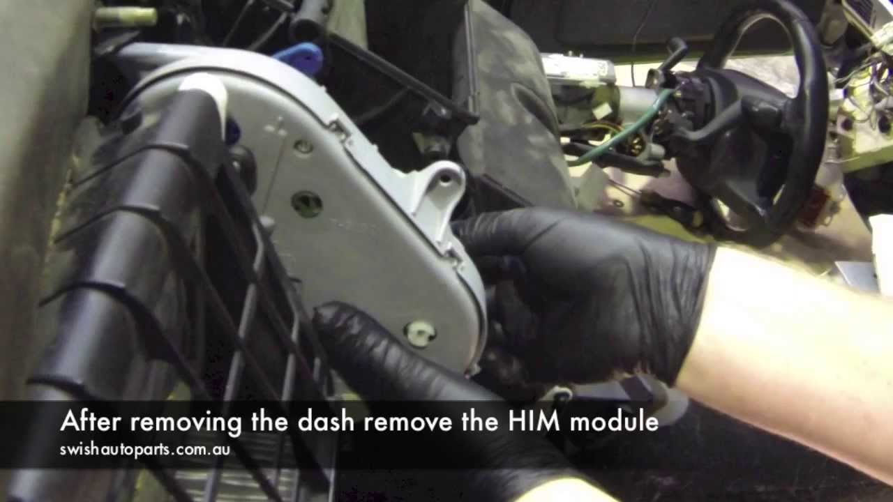 Au Falcon Wiring Diagram 24 Volt For Trolling Motor Ford Him Module And Blend Door Rod Repair - Youtube