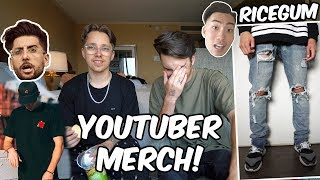 THE WORST YOUTUBER MERCH! (Ft. Jacob Starr)