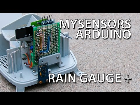 Rain Gauge | MySensors - Create your own Connected Home