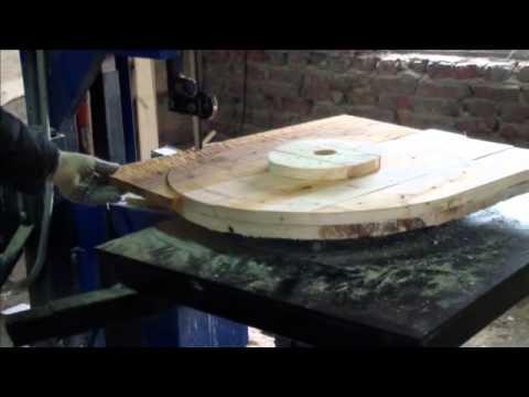 видео: Оборудование для производства деревянных барабанов