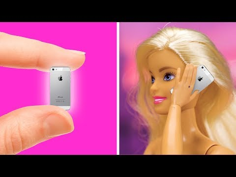 17 WONDERFUL DIY BARBIE IDEAS