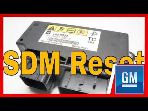 How To Remove Crash Data GM Airbag Module Reset.
