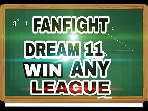 FANFIGHT and dream 11 how to win any fantasy cricket website