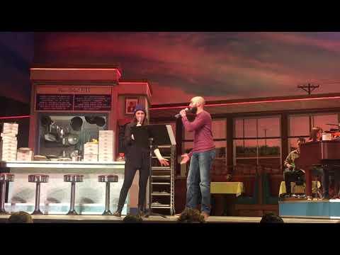 It Only Takes A Taste - Waitress Cast Album Karaoke 2/1/18 - David Colberg and Sara Bareilles