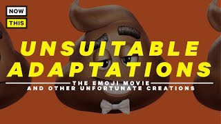 'The Emoji Movie' and Other Unsuitable Adaptations | NowThis Nerd thumbnail
