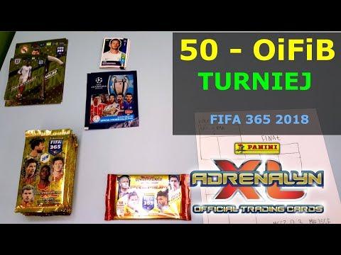 OiFiB - MINI TURNIEJ saszetkowy FIFA 365 2018, REAL, PSG, JUVE, BAYERN