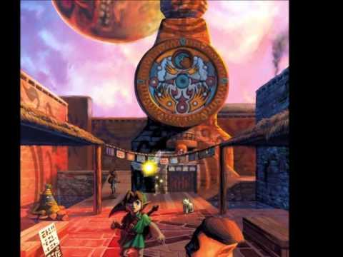 Legend Of Zelda Breath Of The Wild Wallpaper Hd Zelda Majora S Mask Clock Tower Bell Sound Youtube