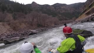 Shoshone Rafting 1000 CFS