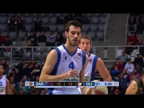 ABA Liga 2017/18, Round 11 match: Zadar - Petrol Olimpija (8.12.2017)
