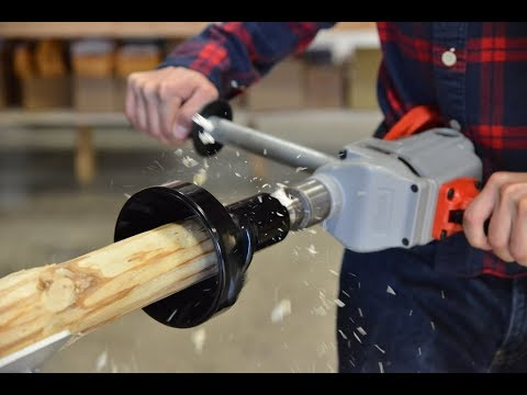 Build Your Own Log Furniture With Lumberjack Tools Youtube