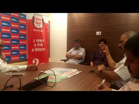 An interesting interaction with Editors of Navodaya Times
