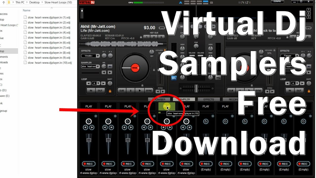 Free dj samples effects.