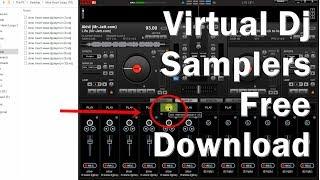 हिंदी | Virtual Dj Samplers Free Download Kaise Kare Aur Use kaise kare