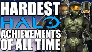 HARDEST Halo Achievements from EVERY Halo Game