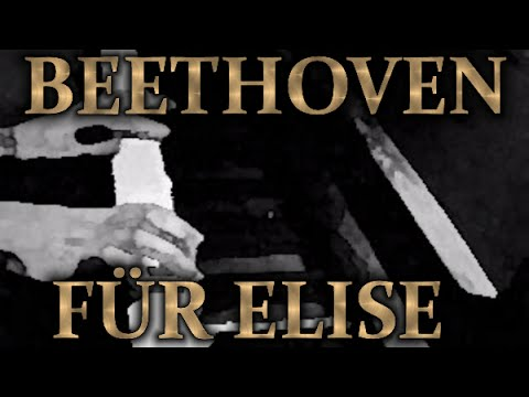 Ludwig van BEETHOVEN: Bagatelle in A minor (Für Elise)