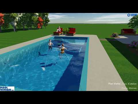 Vip48D 48D Swimming Pool Design Software Maronn Residence Classy 3D Swimming Pool Design Software