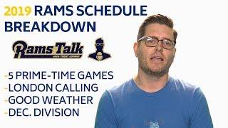 2019 LA Rams Schedule Breakdown | LA Rams Talk