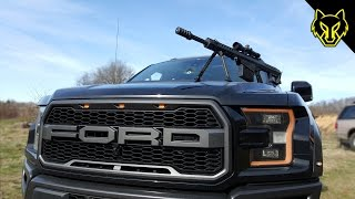 Ford Raptor vs .50 Cal: The Coffee Grinder