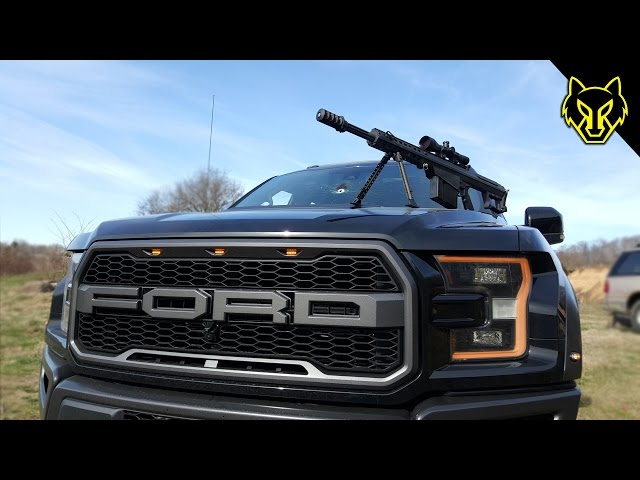 Will a Ford Raptor Stop a .50 cal?
