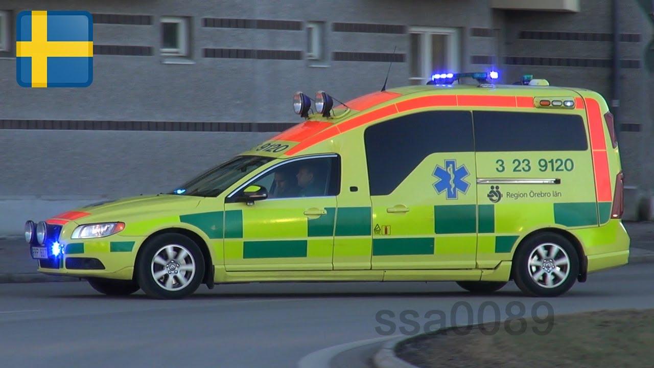 volvo xc70 ambulanse