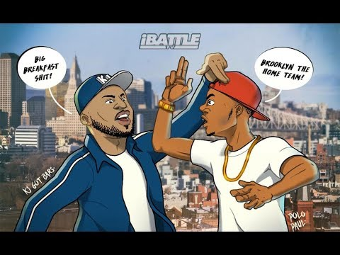 KJ GOT BARS vs POLO PAUL - iBattleTV