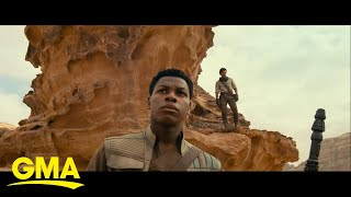 The 'Star Wars: The Rise of Skywalker' cast talk ending the space saga l GMA