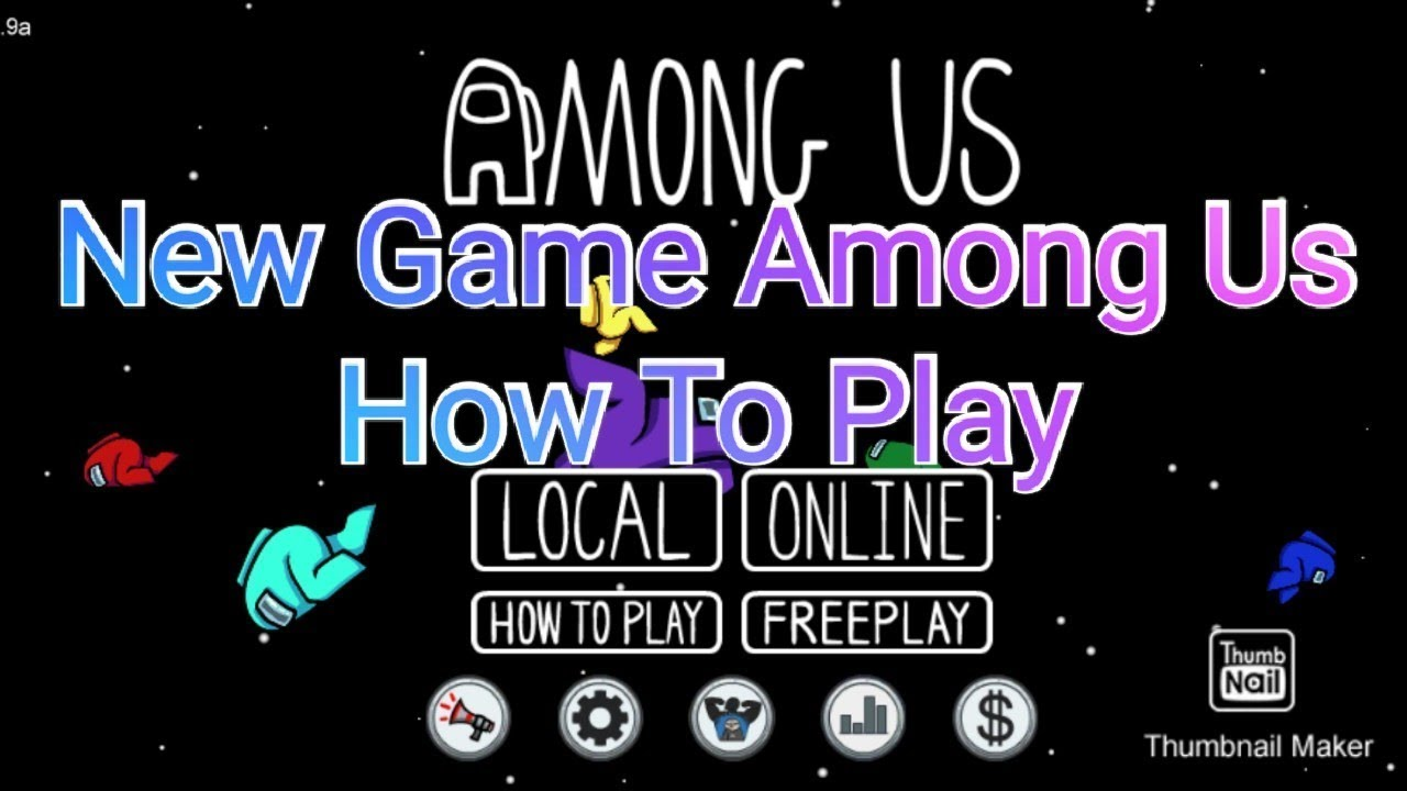 How To Play Among Us Game Best Imposter Game Youtube