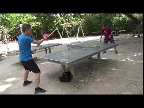 Tischtennis An Der Frauenschule Fuerth  Mit Den Steinb     An Der Steinplatte 20190619  30