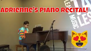 Adrienne's Piano Recital At Music & Arts Store!