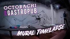 Octobachi Asian Gastropub Mural Timelapse